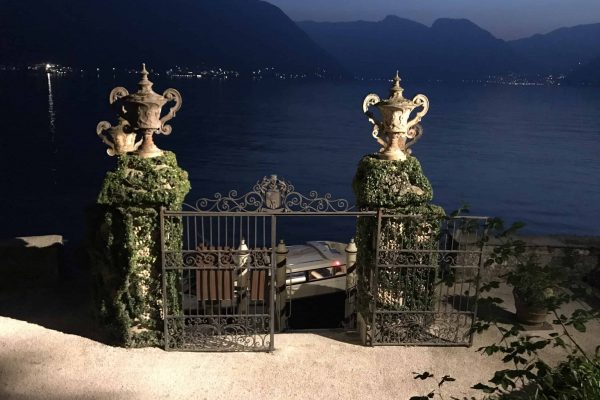 dinner at villa balbianello