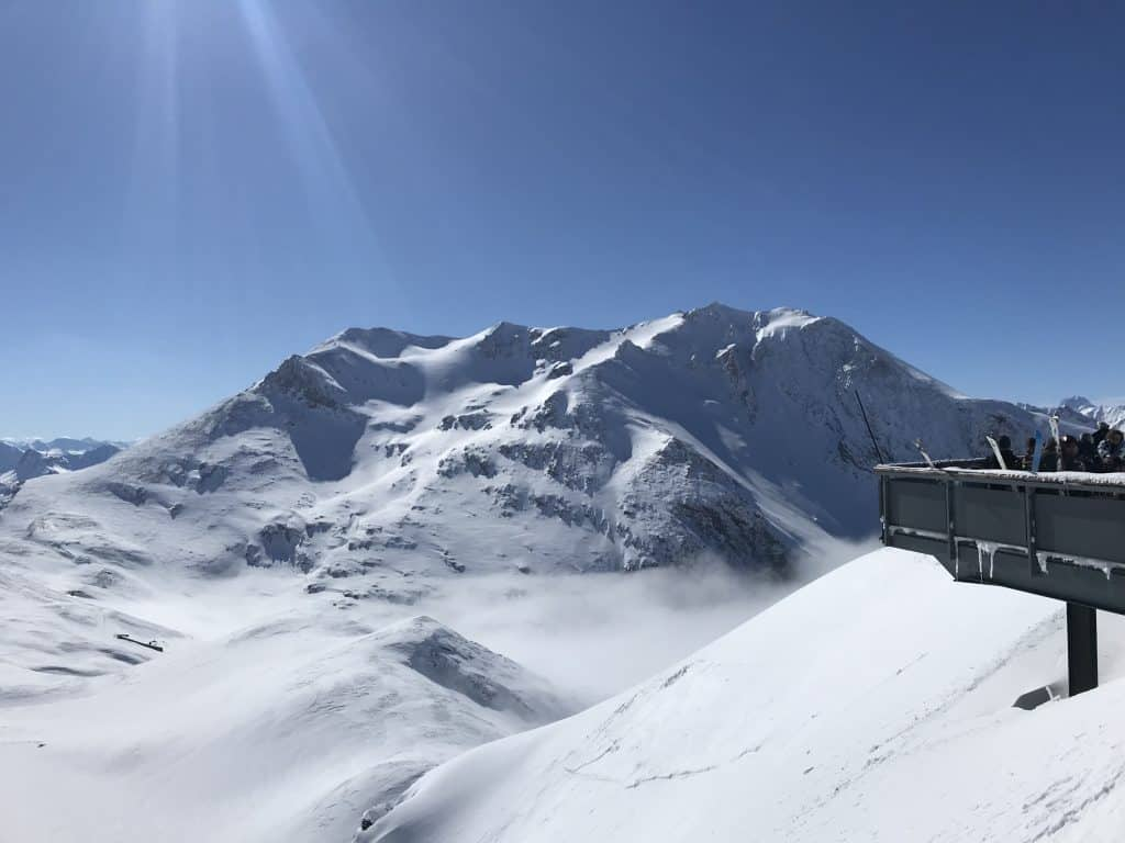 Ski in Bellagio