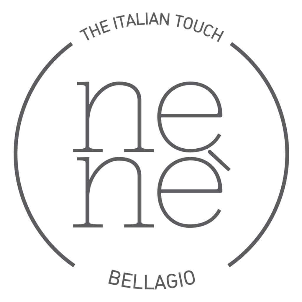 the new nenè bellagio logo