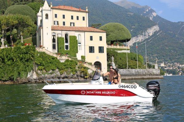 rent a boat lake como