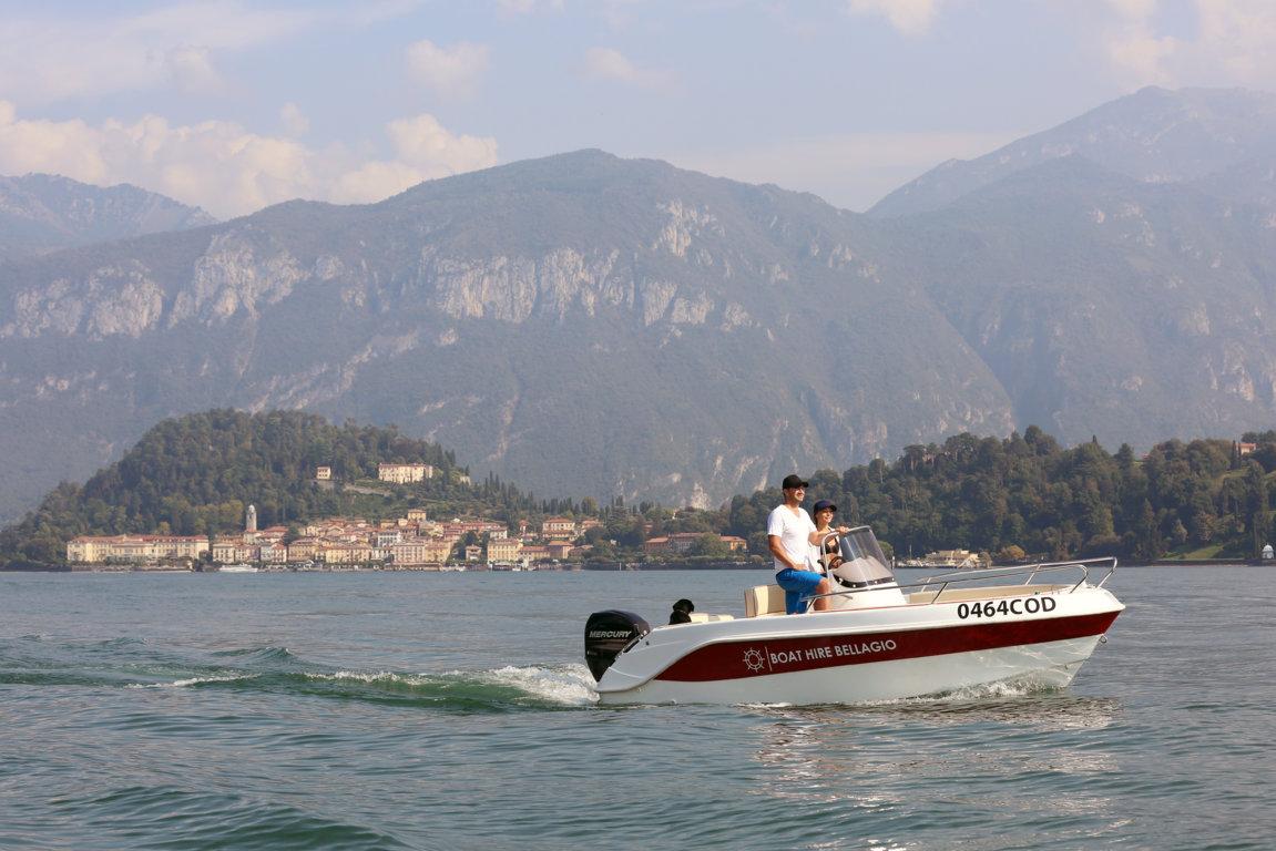 Renta a boat bellagio
