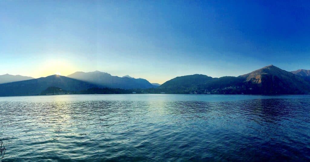 San Valentine on lake como