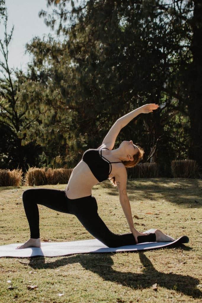 yoga class lake como