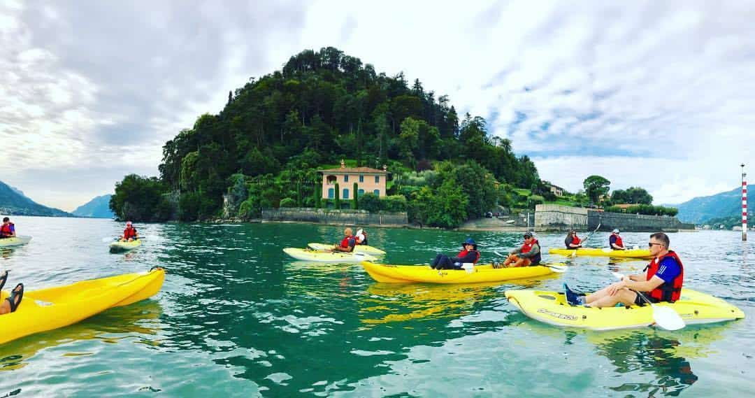 Kayak lake como