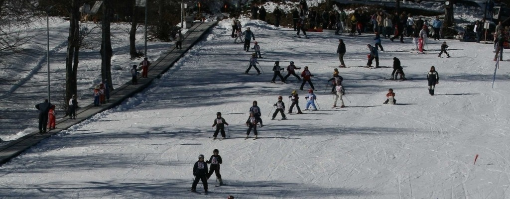 Lake Como skiing